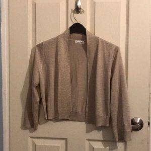 Calvin Klein bolero cardigan size L